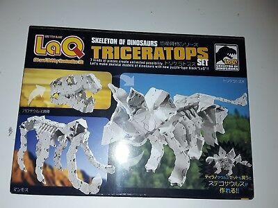 NEW LaQ Skeleton of Dinosaurs Triceratops Set Puzzle Block Kit