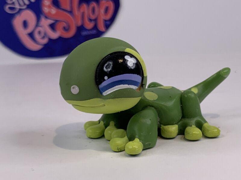 Authentic Littlest Pet Shop - Hasbro LPS - GECKO #847