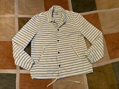 Save Khaki United SKU vintage boat nautical stripe jacket M mens NEW made in usa