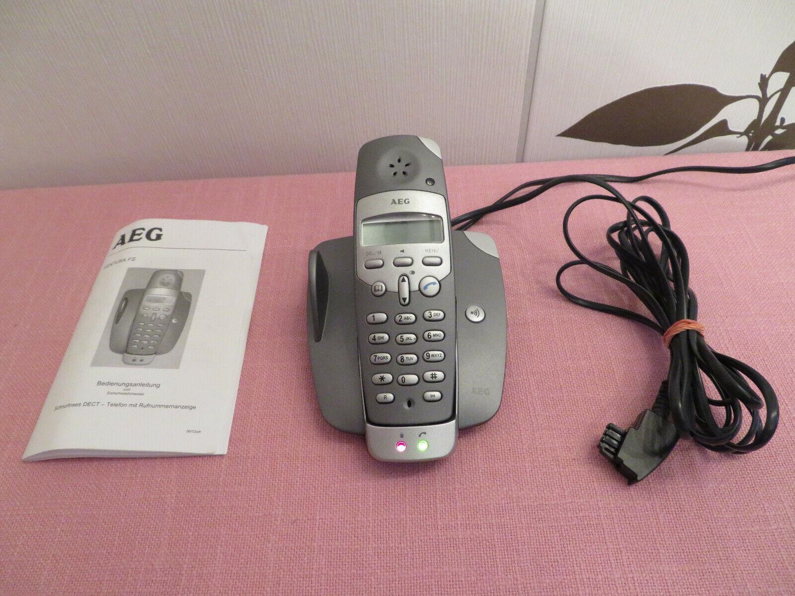 Schnurlostelefon AEG VENTURA FS schnurlos DECT – Telefon + Rufnummernanzeige