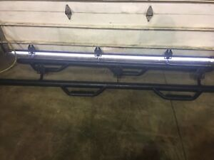 Dodge Ram 2500 Enfab Running Boards with Linex Coating!!!!!