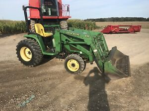 John Deere 4310 with loader