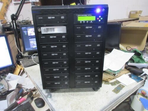 Disc Makers Reflex X5 Pro 1:15 Bay CD/DVD/RW Duplicator on Wheels
