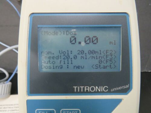 SI Analytics Titrator TITRONIC UNIVERSAL NO STAND INCLUDED