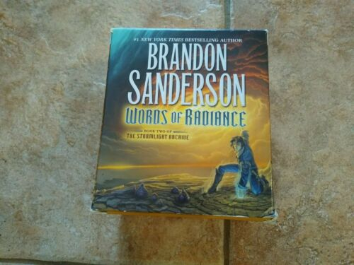 The Stormlight Archive Ser: Words of Radiance 38 CDs 48.5 Hours Sanderson