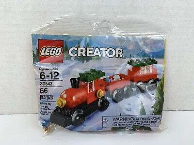 NEW Lego 30543 Creator Holiday Christmas Train, 66 Pieces