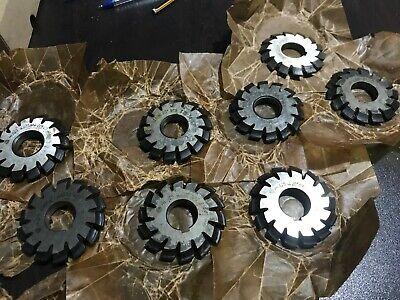 Involute Gear Cutter Set M3.25 Pa20 Hss 1-8 Bevel Spline Modulfrser Satz