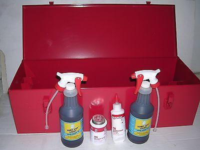 Metal Case Oil Paste Ridgid 700 Power Pony Pipe Threader Six 12r Die Heads 12-2