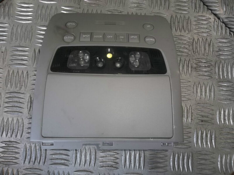 2006 LEXUS GS300 FRONT INTERIOR MAP READING ROOF DOME LED LIGHT 1D111-035G