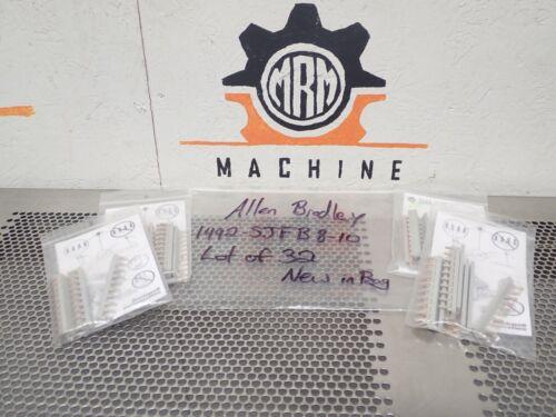 Allen Bradley 1492-SJFB8-10 Ser C Side Jumpers 10 Pole New In Bag (Lot of 32)