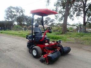 2013 TORO GREENSMASTER 3250D DIESEL GREENS CYLINDER REEL GOF COURSE RIDE ON LAWN MOWER JOHN DEERE Austral Liverpool Area Preview