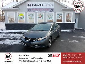 2013 Honda Civic EX AUTO! HEATED SEATS! OWN FOR $146 B/W, 0 D...