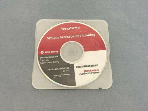 Allen Bradley 77184-925-99 Ver 12.1 VersaView System Accessories / Cloning CD
