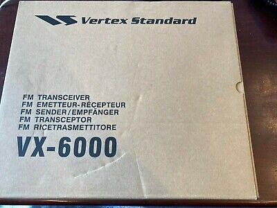 Vertex Vx 6000l Mobile Radio Low Band 37-50 Mhz 120 Watts Brand New.