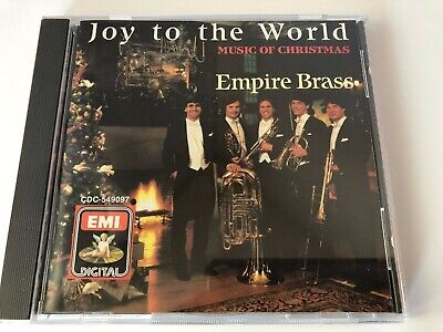 - Empire Brass - Joy To World - Music Of Christmas (CD, 1988, ANGEL)
