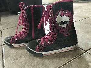 Monster High High Top Sneakers