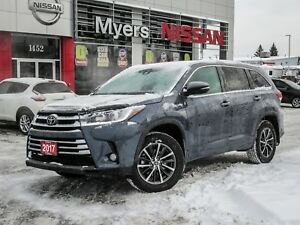 2017 Toyota Highlander XLE, AWD, LEATHER, NAVIGATION, SUNROOF, B