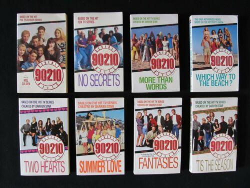Lot of 8 Beverly Hills 90210 Paperback Books Novels ~Nice Book Lot~