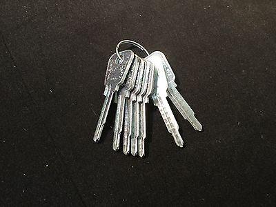 Locksmith Lowe Fletcher By Curtis Lf-1 Key Blanks Set Of 7