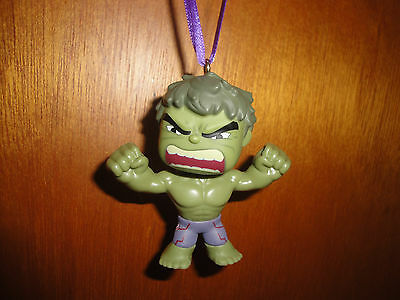 CUSTOM MADE MARVEL FUNKO MINIS AVENGERS THE INCREDIBLE HULK CHRISTMAS ORNAMENT