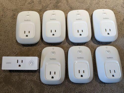 Belkin Wemo Switch & Mini WiFi Smart Plugs (8 Units) Outlets