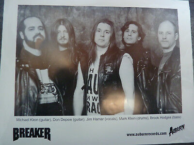 Breaker # US Power Metal # Promo Foto # Jim Hamar # Auburn Records # MegaRar ()