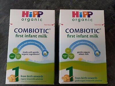 X2 800g unopened Hipp organic milk 1
