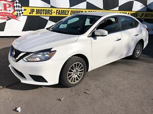 2017 Nissan Sentra S, Auto, Heated Seats, Back Up Camera, 13,000