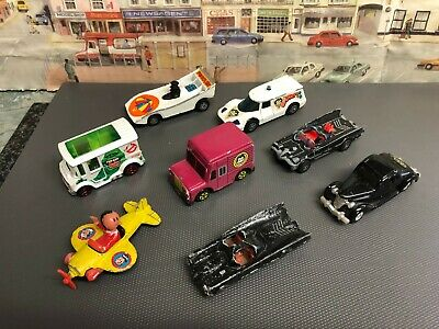 Bundle of Film Character die cast models vehicles