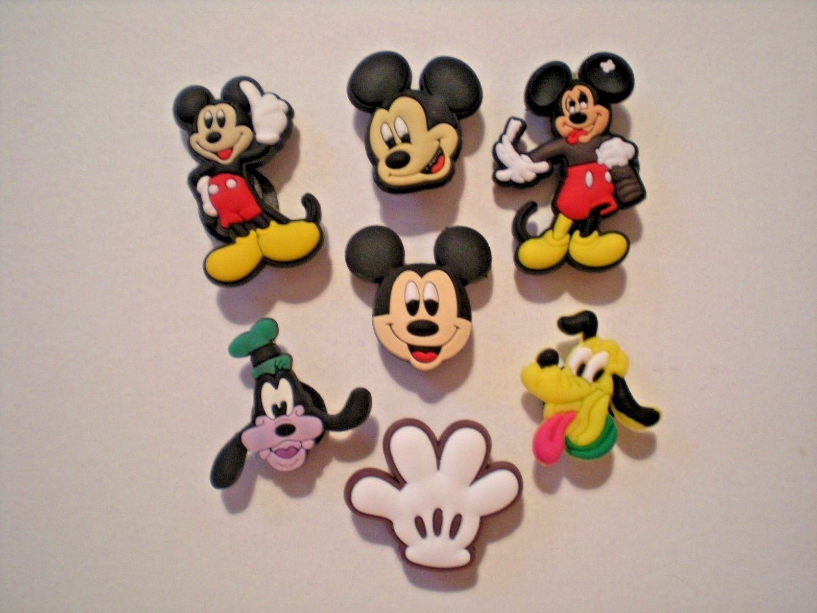 Clog Shoe Plug Button Charms Fit Bracelet Accessories Mickey Mouse