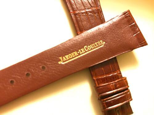 jaegerlecoultre brown crocodile watch strap
