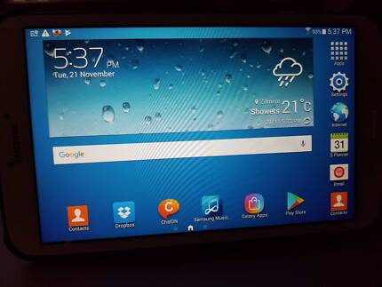 Galaxy tab 3 8 ins great condition