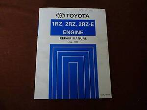 Toyota engine repair manual 1989 Knoxfield Knox Area Preview