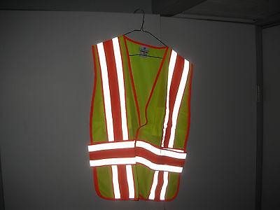 Fireemslawroad Safety Vest -4 Season Lime Yellow 2xl-4xl