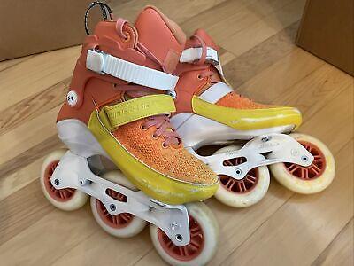 Powerslide Swell Sherbet Trinity 100 Size 36EU Inline Skates Rollerblades
