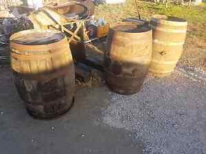 Wine barrels garden home deco Echuca Campaspe Area Preview