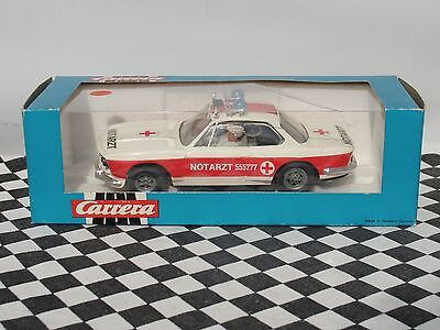 CARRERA 1970'S  BMW 3.0  WHITE CSL NOTARZT  40425   1:32 USED BOXED