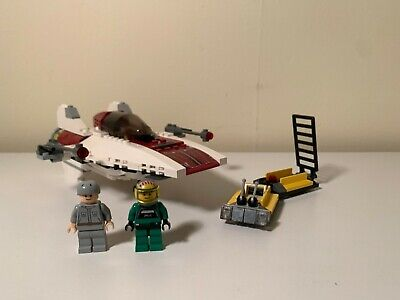 Lego Star Wars A-Wing 6207 100% Complete with Minifigs
