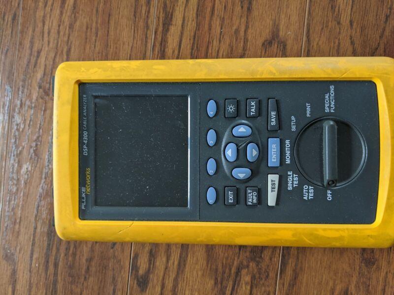 Fluke DSP-4300 Digital Cable Analyzer #2