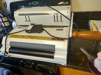 Akiles Coilmac 41 Eci Manual Punch Coil Binding Machine Works