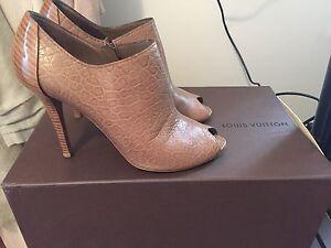 Crocodile Skin Louis Vuitton Heels Rozelle Leichhardt Area Preview