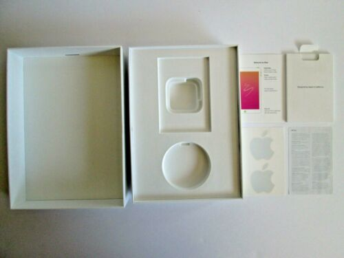 Ipad 6th Generation 32gb Wi-Fi Space Gray Empty Box (Box Only) Apple Stickers