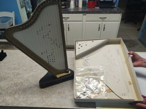 Rare Vtg The Golden Jr Harp La Magica Arpa D