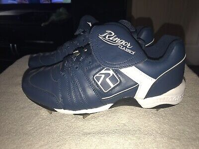 5325d5792 Ringor Baseball Softball Cleats - Blue - Size 9.5 Men s Woman s