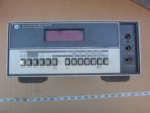 HP Hewlett Packard 34654 Digital Multimeter, Used