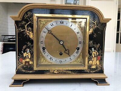 Elliot Chiming Chinoiserie Bracket Clock