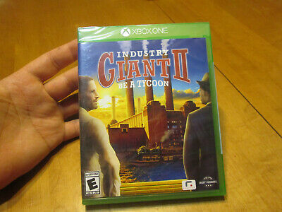 Industry Giant II  XBOX ONE US EDITION BRAND NEW FACTORY SEALED