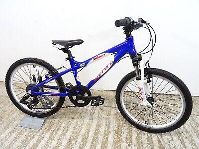 "Carrera Blast 20"" Boys Kids Hardtail Mountain Bike Light Alloy Suspension GC"