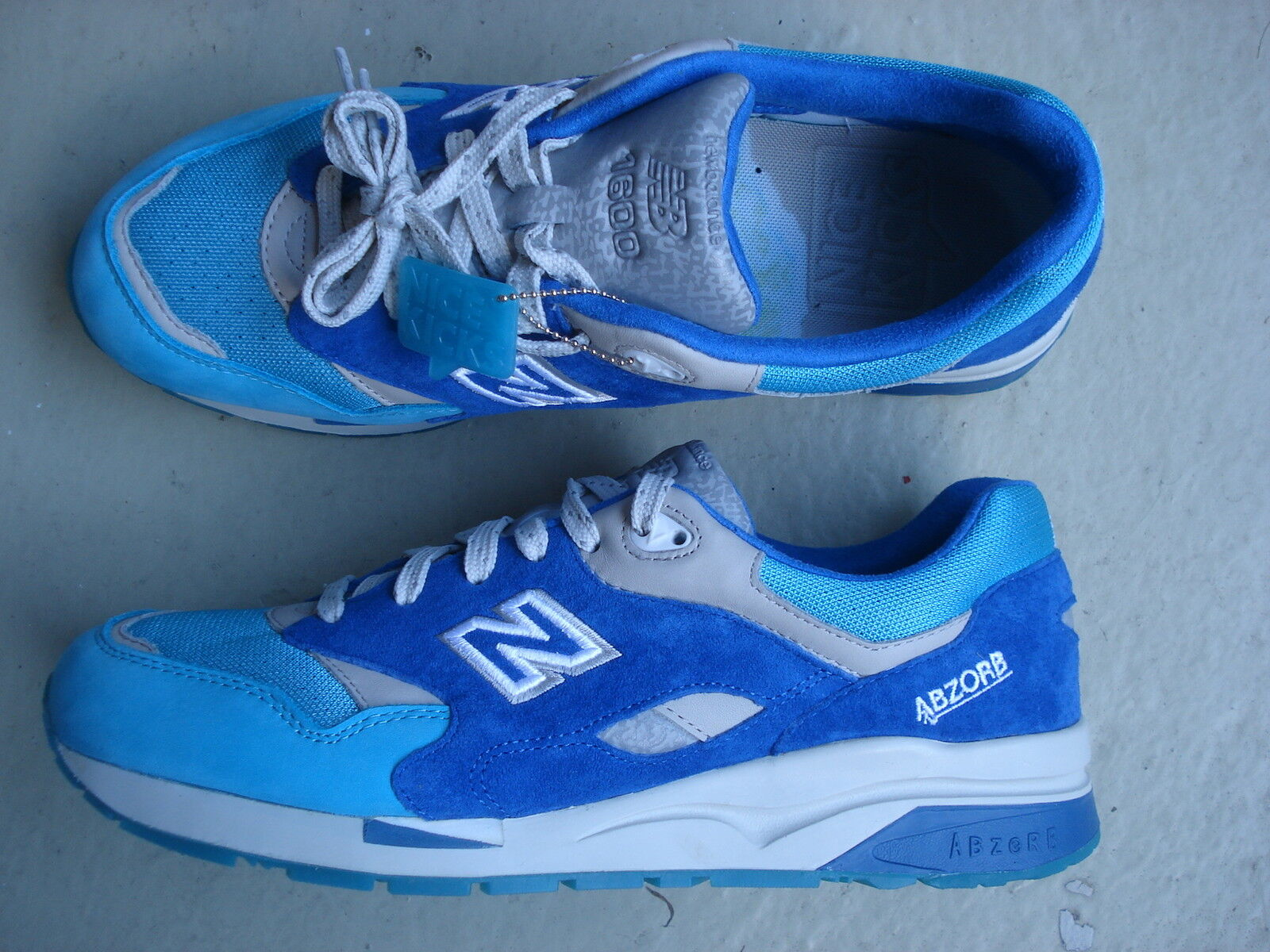 NICE Kicks x New Balance CM 1600 NK 45.5 Grand Anse Blue/Aqua