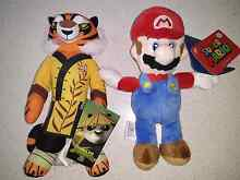 Brand New Mario and Kung Fu Panda Plush Toys South Morang Whittlesea Area Preview